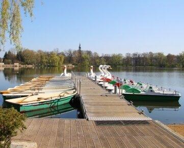 Die Bootsstation in Zwickau startet voraussichtlich am 1. Juli in die diesjährige Saison.