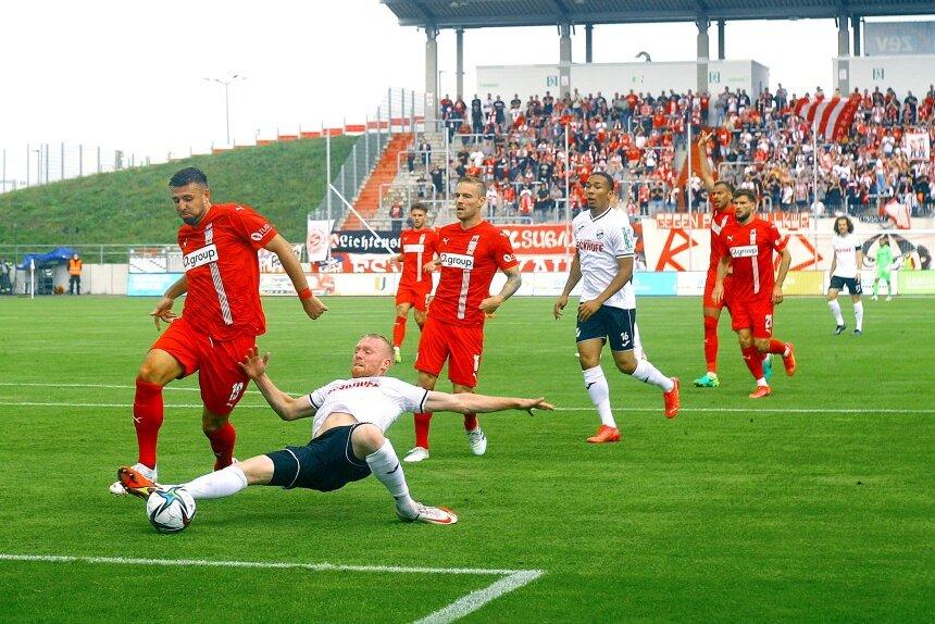 Wieder keine Punkte: FSV Zwickau verliert gegen SC Verl