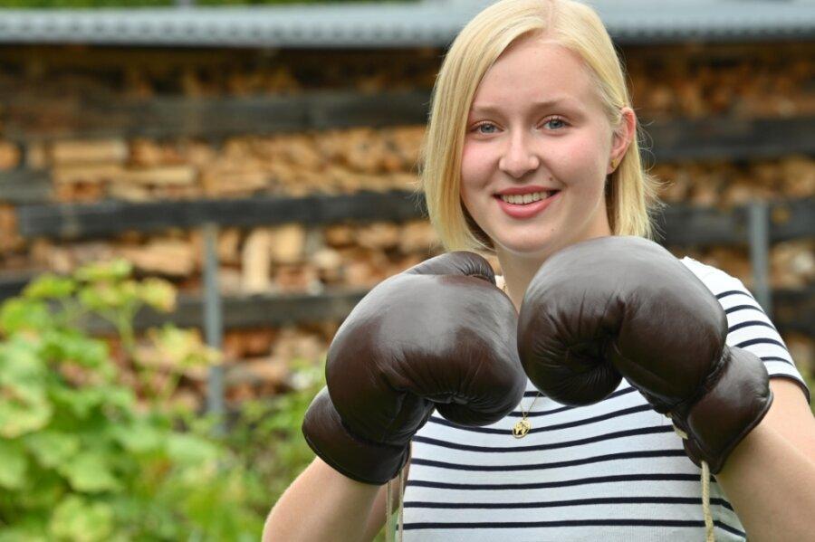 Antonia Poscher hat ein besonderes Hobby: Boxen. Seit dieser Woche lebt sie in Norwegen.