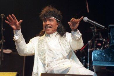 Little Richard, der «King of Rock'n'Roll», bei einem Konzert in Essen. Der amerikanische Musiker («Tutti Frutti») starb am 09.05.2020 im Alter von 87 Jahren, wie das Magazin «Rolling Stone» und die US-Nachrichtenagentur AP unter Berufung auf Familie und enge Freunde berichteten.