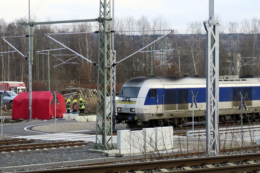 Nach dem Gefahrguteinsatz bei der Mitteldeutschen Regiobahn in Chemnitz steht nun fest, um welche Substanz es sich gehandelt hat.