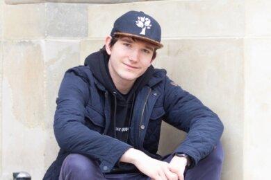 Ian Grimm ist im Theaterförderverein eines der jüngsten Mitglieder.