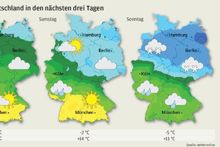 Meteorologen: Wetter zeigt sich von seiner extremen Seite
