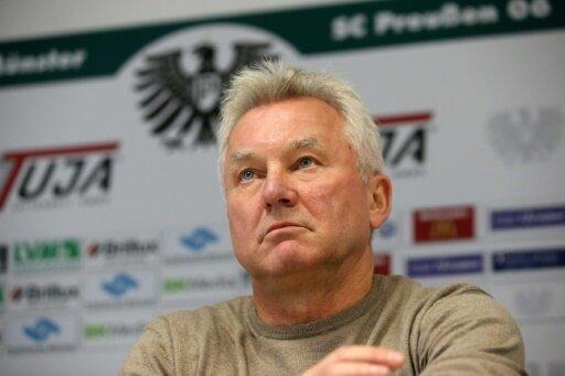 Muss gehen: Möhlmann ist nicht mehr Preußen-Trainer