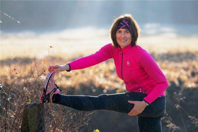 Wer sein Gewicht halten will, muss zwei Stunden schweißtreibenden Sport pro Woche machen, sagt Julia Zichner aus Radeburg. Sie joggt, fährt Rad und Langlaufski, wenn das Wetter es hergibt.