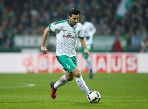 Pizarro und seine Bremer kamen nicht über ein 1:1 hinaus