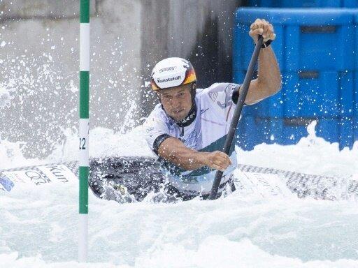 Franz Anton gewann den WM-Titel im Canadier-Einer