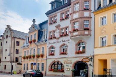 """Das """"Deutsche Haus"""" in Mittweida ist eines von sieben Hotels der Travdo-Kette in Sachsen."""