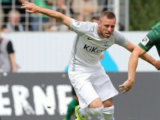 Marius Kleinsorge vergab die größte Chance des SV Meppen