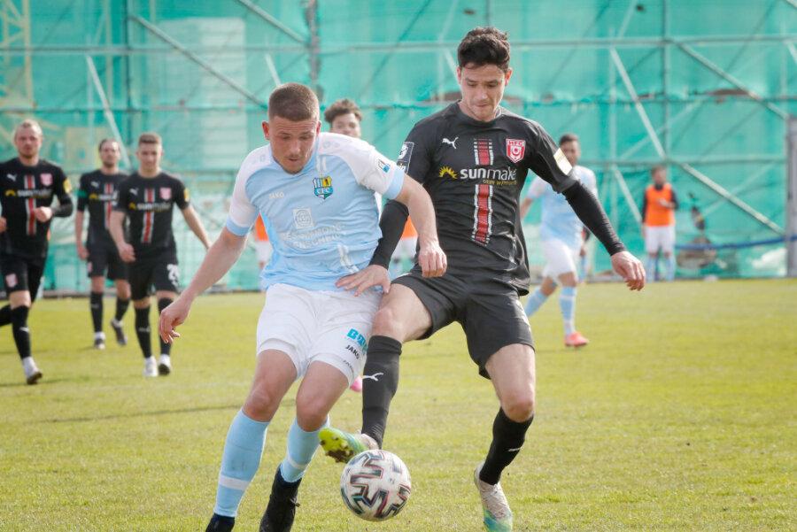 Der Chemnitzer FC konnte bei dem Spiel am Donnerstag gewinnen.