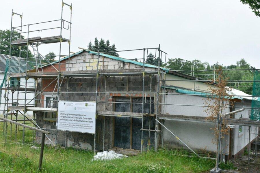 Dorfhaus-Bau in Gunzen macht Fortschritte - Kosten steigen um gut 20 Prozent