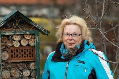 Insekten, die die angebotene Unterkunft annehmen, erste Knospen, die im Garten sprießen - das alles gibt Ute Jahnke jetzt Kraft. Denn sie kämpft mit den körperlichen und finanziellen Folgen ihrer Krebserkrankung.