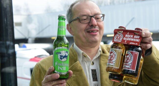 Ludwig Hörnlein braut Fucking Hell, das Bier aus dem gleichnamigen österreichischen Dorf. Zurzeit wird der meiste Umsatz mit Glühwein gemacht.