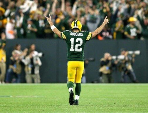 Quarterback Rodgers führte die Packers zum Sieg