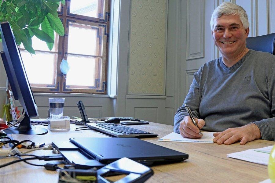 Tino Kögler will weiterhin Bürgermeister bleiben und kandidiert daher am 21. Februar für eine weitere Wahlperiode.