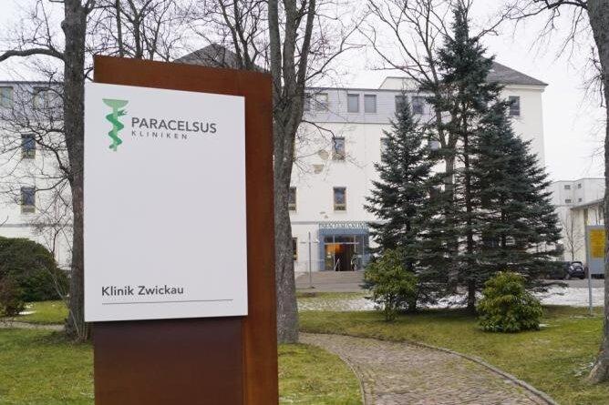 Die Paracelsus-Klinik in Zwickau.