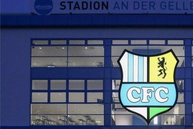Das Stadion an der Gellertstraße. Damit hier nicht die Lichter für den CFC ausgehen, hofft der Verein auf weitere Spenden der Fans.
