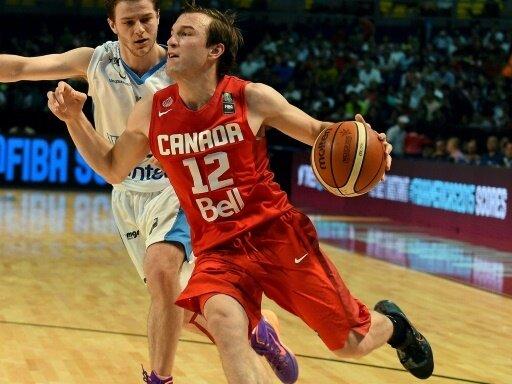 Brady Heslip (vorne) ist Nationalspieler Kanadas