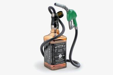 Treibstoff.