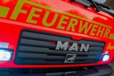 Die Feuerwehr war in Auerbach im Einsatz.