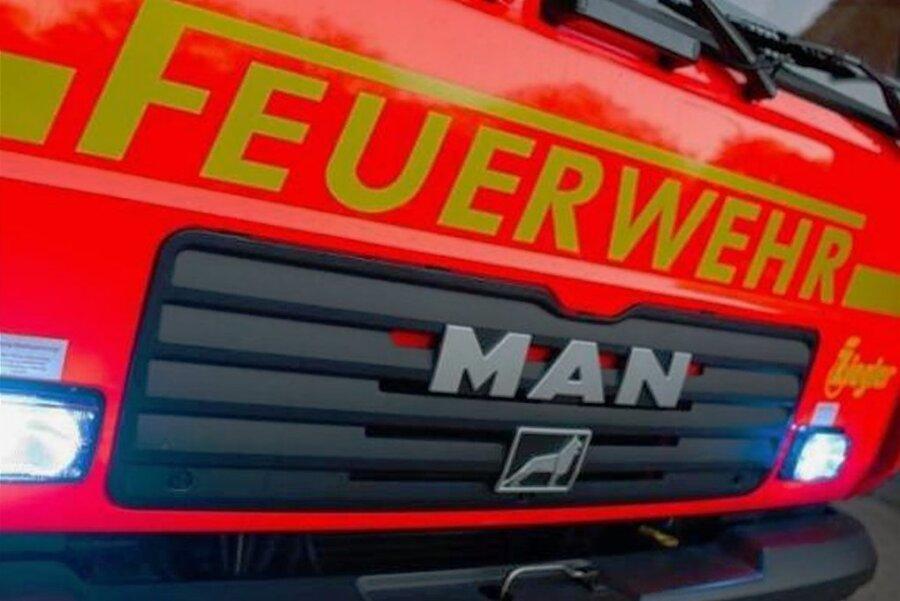Gartenlauben in Glauchau abgebrannt