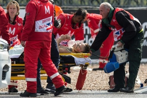 Motorrad-Unfall: Tito Rabat erlitt mehrere Knochenbrüche