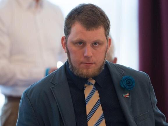 Der AfD-Politiker Benjamin Joseph Przybylla.