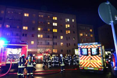Eine brennende Zigarette hatte am 10. Dezember 2018 einen Brand in einer Asylunterkunft in Hainichen ausgelöst.