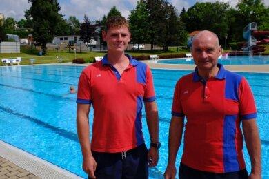 Zwei Schwimmmeister, eine Linie. Bernd Claus über seinen Nachfolger Kevin Marschlich: Wenn ich weg bin, wird man das nicht merken.