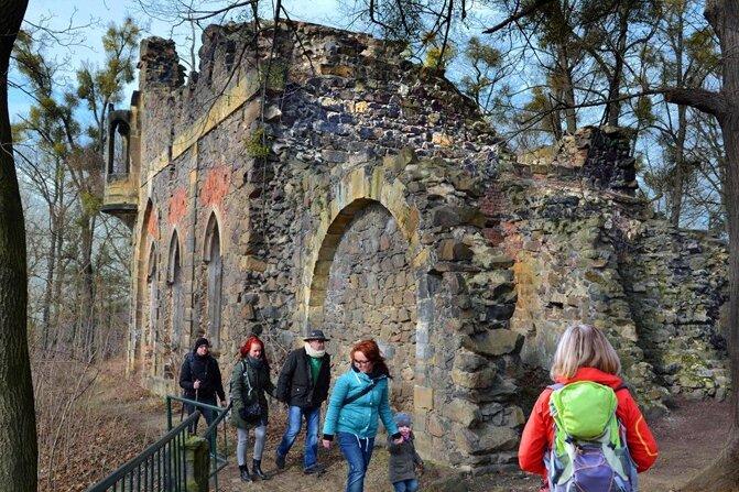 Die nur zu Fuß erreichbare Burgruine Pillnitz hoch über der Elbe soll wieder zu einem Ausflugsziel wie im 18. Jahrhundert werden.