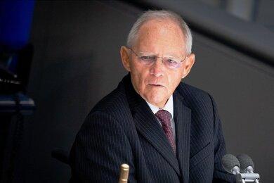 Wolfgang Schäuble - Bundestagspräsident