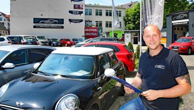 Ralf Hermann will sein Unternehmen vergrößern.