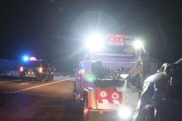 Zwei Autos sind am Donnerstagabend auf der Ortsumfahrung zusammengestoßen.