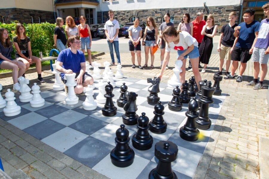 Gymnasiasten gelingt cleverer Schachzug