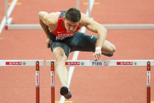 Erik Balnuweit kam in seinem Vorlauf als Erster ins Ziel