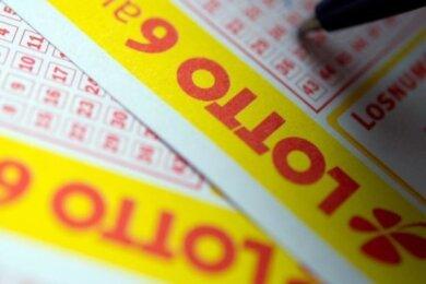 Millionengewinne konnten 2020 in Sachsen vier Lotto-Spieler erzielen.