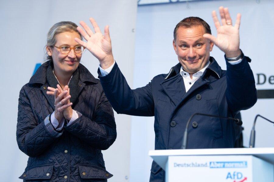 AfD stärkste Kraft in Sachsen - und Gewinner in 10 von 16 Wahlkreisen