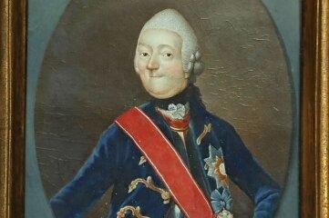 Bildnis des Grafen Albert Christian Ernst von Schönburg.