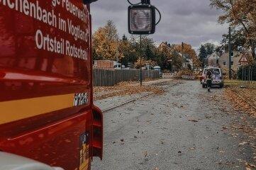 Der Feuerwehreinsatz in Rotschau, wo es zu einem Stromausfall gekommen war, ist am Sturmtag besonders wichtig gewesen.