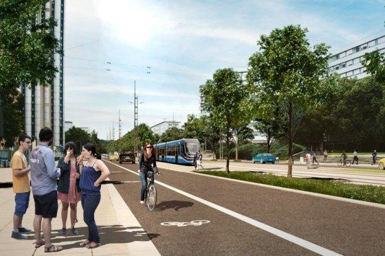 Bahn nach Limbach-Oberfrohna: VMS stellt Streckendetails in Chemnitz vor
