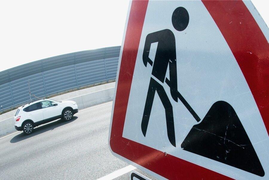 Bau einer Gasleitung: B 101 in Schwarzenberg zwei Wochen dicht