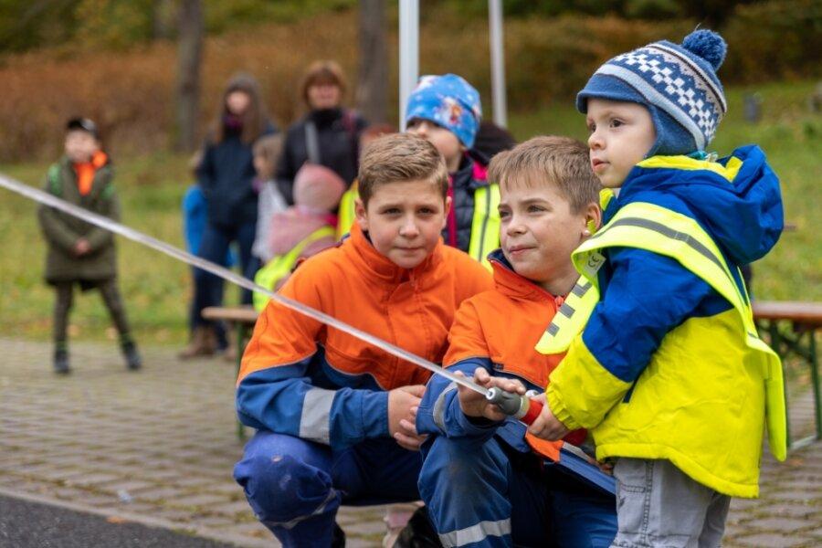 Blaulichttag lockt mehr als 250 Kinder an
