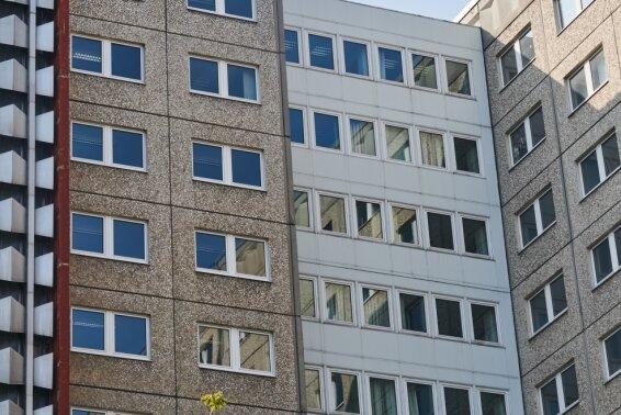 Blick auf die ehemalige Stasi-Zentrale der DDR in Berlin.