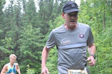 Thomas König hat den Sachsen-Trail voll ausgekostet.
