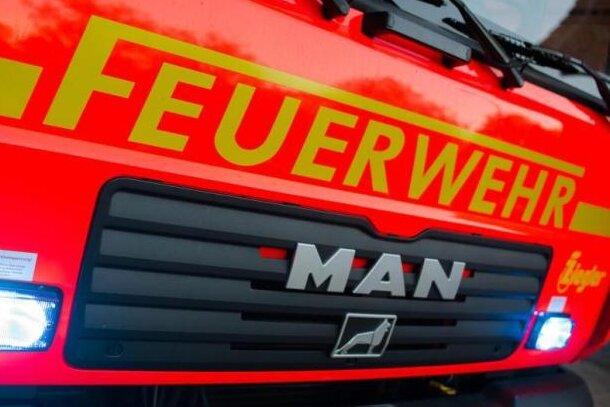 Brand in Chemnitzer Erdgeschosswohnung