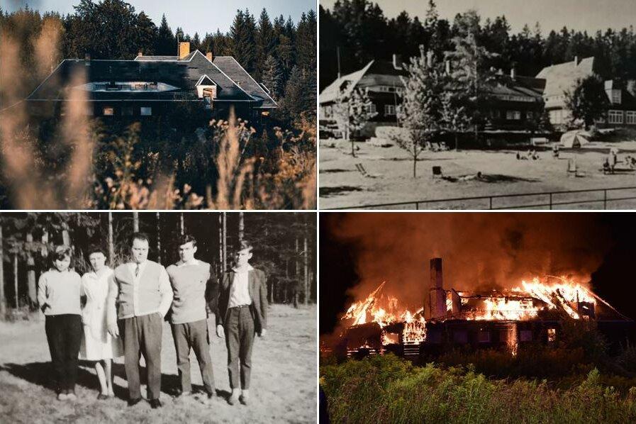Brand in Olbernhau: So schön war es früher im TuR-Ferienheim