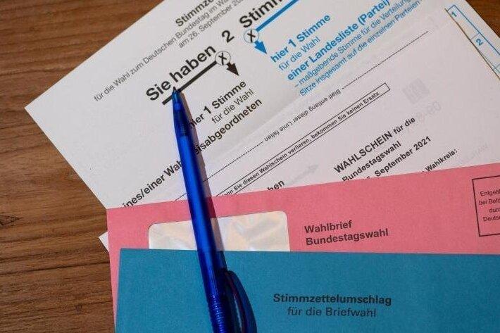 3,3 Millionen Menschen in Sachsen konnten mit über die Besetzung des neuen Bundestags bestimmen.