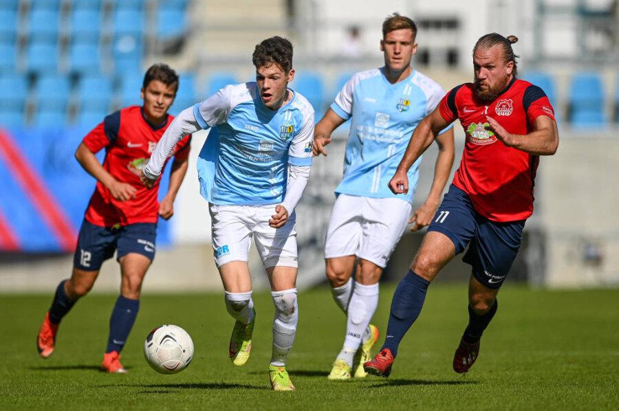 Chemnitzer FC gewinnt gegen Tabellenschlusslicht