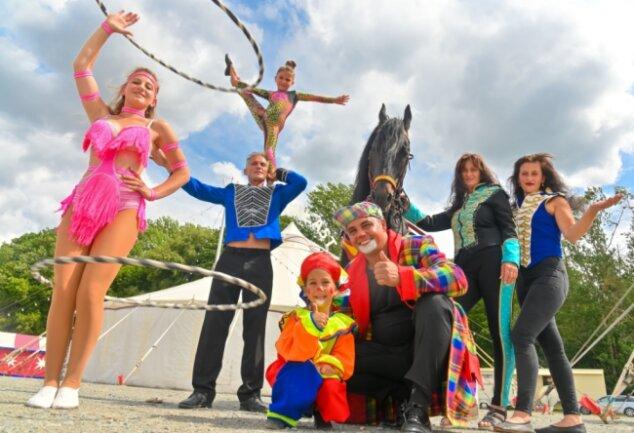 Der Circus Baroness ist in der Stadt. Am Donnerstag ruft die erste Vorstellung.