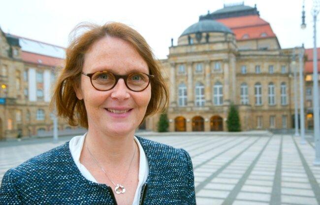 Claudia Crawford zu Gast in Chemnitz: Die Ex-Ministerin, bekannt unter ihrem früheren Namen Nolte, arbeitet inzwischen für die Konrad-Adenauer-Stiftung - derzeit in Moskau.
